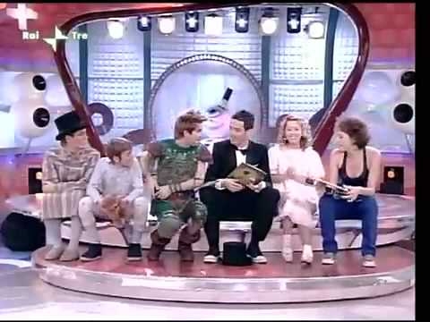 Martha Rossi ed il cast di Peter Pan il Musical su TREBISONDA