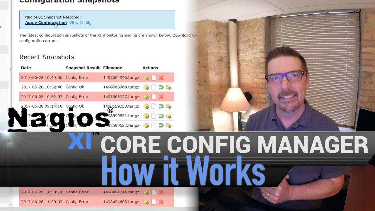 1. Nagios XI - Core Config Manager - How it Works - Dauer: 5 Minuten, 20 Sekunden