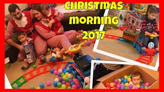 Opening Christmas presents 2017  | Christmas morning unboxing toys