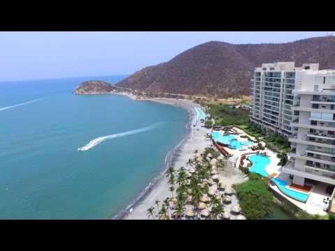 Santa Marta Colombia- Drone footage