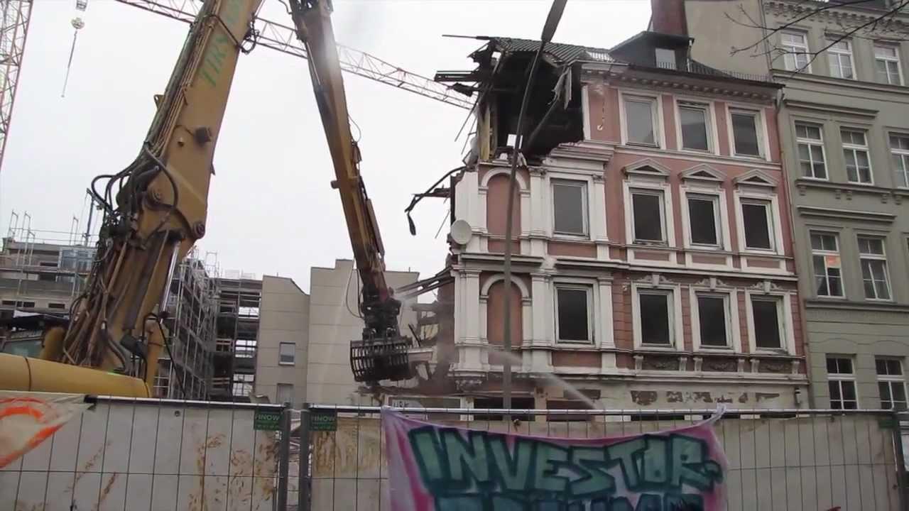 SOS St Pauli Kompletter Abriss denkmalgeschütztes Haus