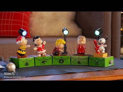 Happiness is a Peanuts® holiday dance party!