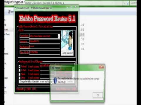 NEW! Habbo Password Bruter 5.1