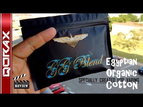 GG BLEND, Egyptian Organic Cotton Wicks, from Golden Greek