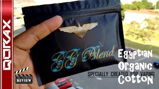 GG BLEND, Egyptian Organic Cotton Wicks, from Golden Greek