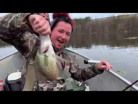 Pymatuning Crappie Fishing (Limits)