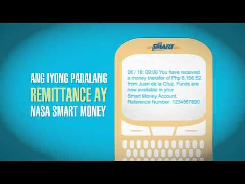 Send money easily with SMART Money!
