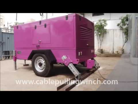 Hydraulic Cable Pulling Winch India To World
