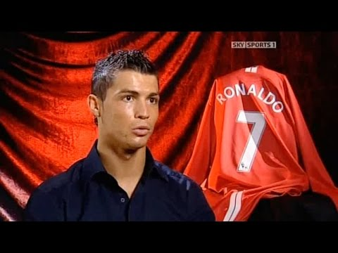 Cristiano Ronaldo Champions League Interview (Sky Sports HD)