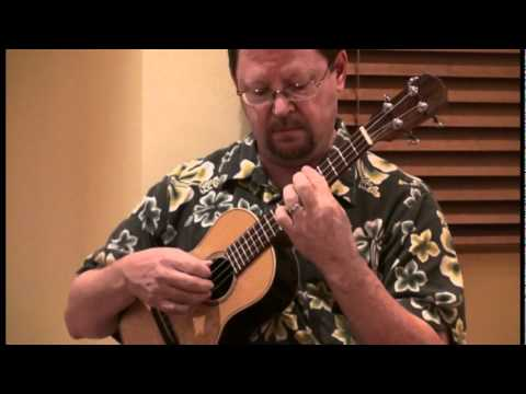 Greg Shirer plays Bach Courante on Ukulele