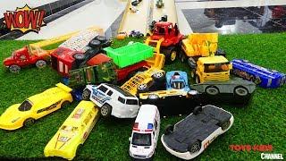 Cars For Kids| Toys Car Slide Play Sliding Cars Video for Kids, Toys Kids Video for Children,