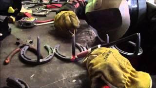 Horse Shoe Coat Rack