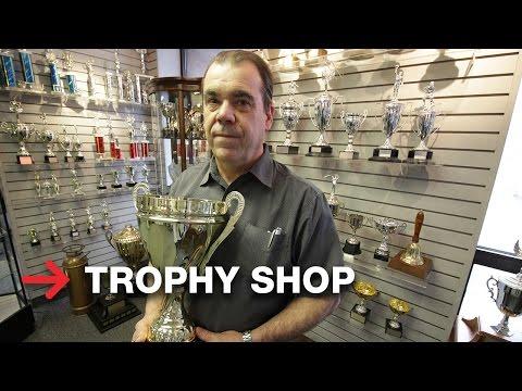 Laser Engraving Trophy Shop | SpeedMarker 300
