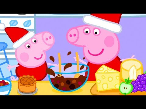 Peppa Pig Official Channel  Christmas Baking Special with Peppa Pig