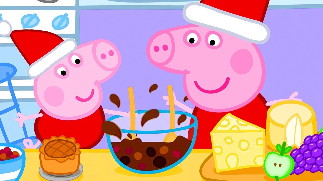 Peppa Pig Official Channel Christmas Baking Special With Peppa