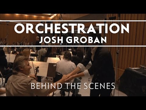 Josh Groban - Working With An Orchestra [Behind The Scenes]