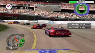 Full Race at Dodge Raceway in NASCAR 06 Total Team Control