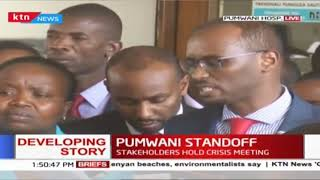 Pumwani Standoff: Health CS calls for investigation