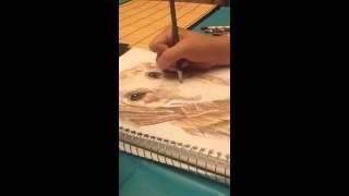 Golden Retriever- Color Pencils
