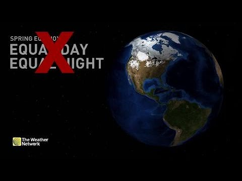 Why 'equal day and night' is wrong, the Spring equinox explained