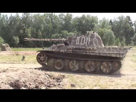 """Реальные танки. """"Пантера"""" в движении."""