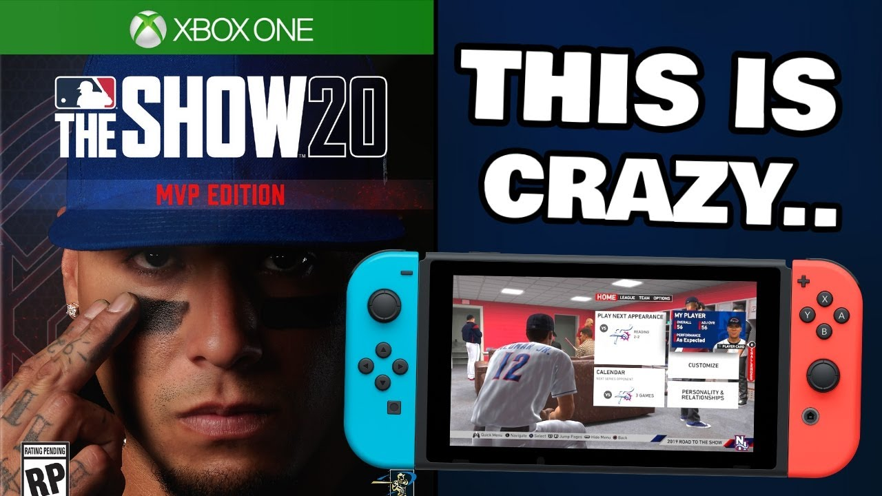 MLB THE SHOW JUST CHANGED FOREVER.. (Xbox, Nintendo, PC)