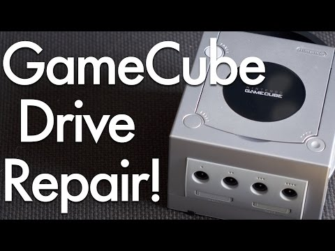 GameCube Disc Drive Troubleshooting and Repair