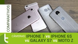 iPhone 7, Galaxy S7, iPhone 6s e Moto Z | Comparativo de câmeras do TudoCelular