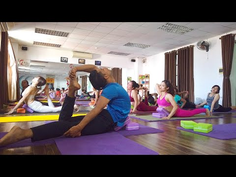 Dynamic Advanced Yoga Class | Backbend | Twisting | Hip Opening | Raja Gupta
