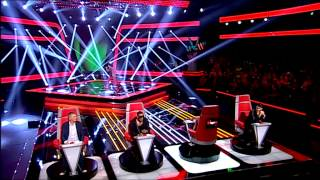 "Nuno Pinto - ""Locked Out Of Heaven"" Bruno Mars - Provas Cegas - The Voice Portugal - Season 2"