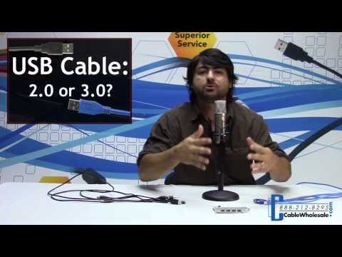 USB 2.0/3.0 Explained - CableWholesale