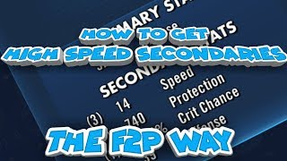 how to get high speed secondaries star wars galaxy of heroes swgoh