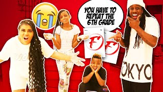 Telling YAYA and DJ They Didn't Pass School Prank