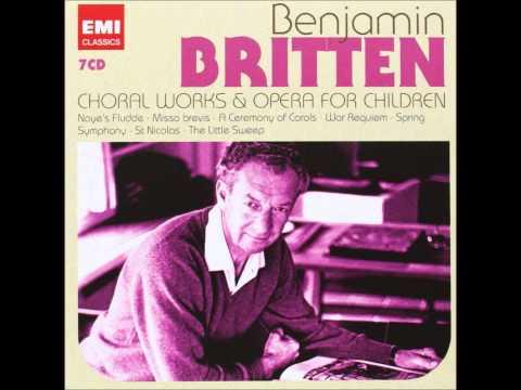 Britten Sacred and Profane