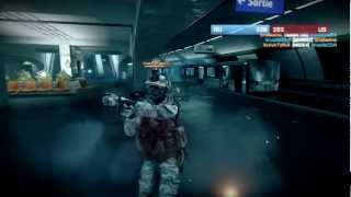Battlefield 3 - Live Commentary - Conquest on Operation Metro (BF3 Online Multiplayer Gameplay)