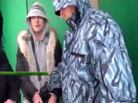 Оперативные кадры с мест задержания курганских наркопреступников