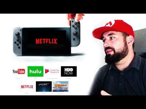 Nintendo Switch ¿Dónde están las Apps de YouTube, Netflix, HBO y Amazon Prime?