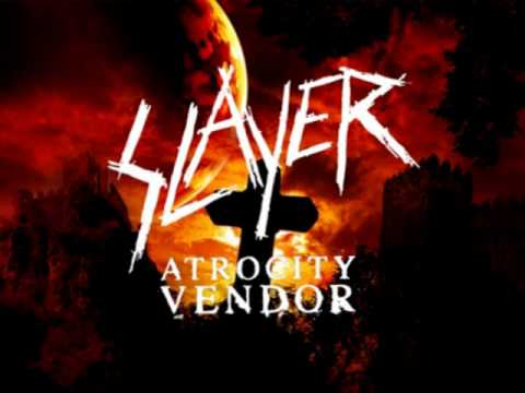 Slayer - Atrocity Vendor Lyrics | MetroLyrics