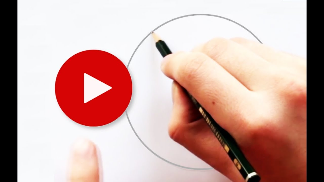 How To Draw A Perfect Circle With Pencil