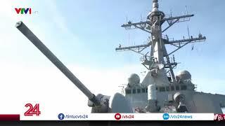 """Tổng thống Trump dọa tấn công Syria bằng tên lửa """"đẹp, mới và thông minh"""" - Tin Tức VTV24"""