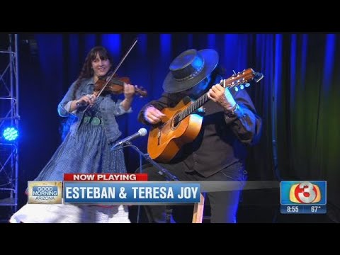Master guitarist Esteban & electric violinist Teresa Joy