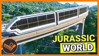 MONORAIL - Jurassic World Evolution Part 2