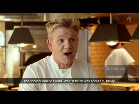 Marina Bay Sands: Introduction to Bread Street Kitchen