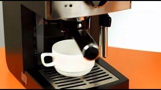 капучино в кофемашине видео