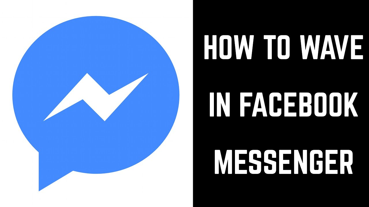 How To Wave In Facebook Messenger Youtube