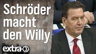 Gerhard Schröder macht den Willy (2002)