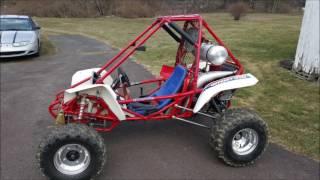honda odyssey fl350 5 link rear suspension build slide show