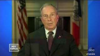 Bloomberg Qualifies for His 1st Debate | The View