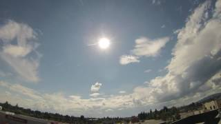 Fairbanks, Alaska Summer Solstice 2017 - 48 Hours condensed into 3 minutes.