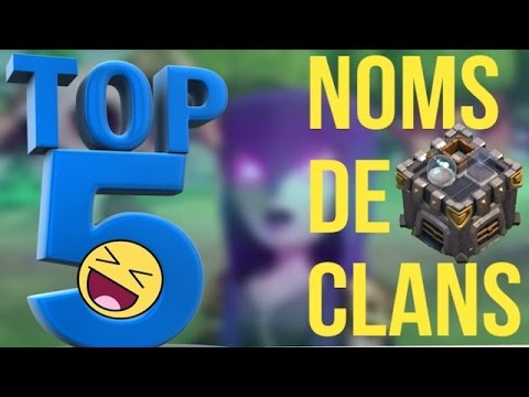 top 5 noms de clans jeux de mots pourris clash of clans youtube. Black Bedroom Furniture Sets. Home Design Ideas